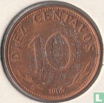 Bolivia 10 centavos 1965