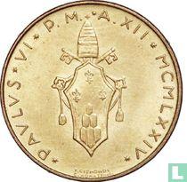 Vaticaan 20 lire 1974