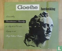 Goethe Herdenking