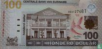 Suriname 100 Dollar 2004