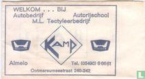 Autobedrijf Autorijschool M.L. Tectyleerbedrijf Kamp