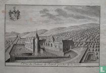 Vûe du Chateau de Ramet proche de la meuse.
