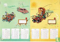 Kalender 1953 (deel)