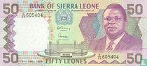 Siera Leone 50 Leones 1989