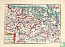Carte du Comté de Flandre
