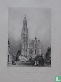 West Front of Cathedral of Nôtre Dame, Antwerp.