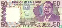 Sierra Leone 50 Leones 1988