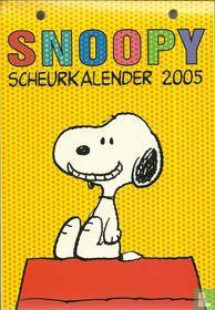 Snoopy scheurkalender 2005