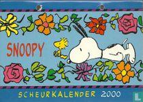 Snoopy scheurkalender 2000