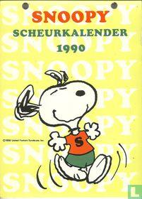 Snoopy scheurkalender 1990