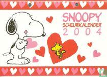 Snoopy scheurkalender 2004