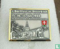 1. Dorffest in Unterb