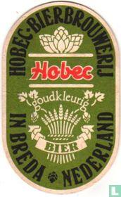 Hobec goudkleurig bier