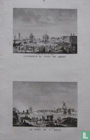 L'Intérieur Du Port De Brest. // Le Port De St. Malo.