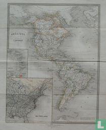 Amérique Dressée par E. Desbuissons sous la direction de E. Cortambert.