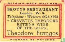 Beotys Restaurant - Theodore Frangos