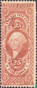 George Washington (insurance) 25 c