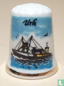 Urk (NL) -Vissersboot