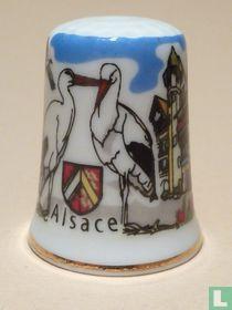 Alsace (F) - Ooievaar