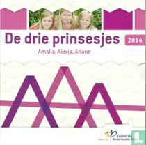 "Netherlands mint set 2014 ""The three princesses"""