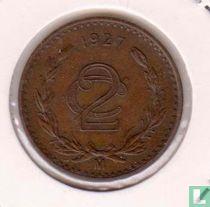 Mexico 2 centavos 1927