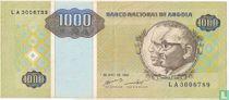 Angola 1.000 Kwanzas Reajustados 1995