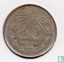 Mexico 20 centavos 1925