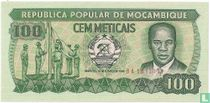 Mozambique 100 Meticais 1986