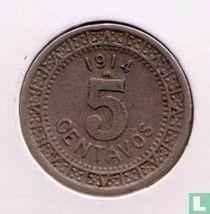 Mexico 5 centavos 1914