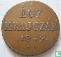 Hongarije 1 krajczar 1849