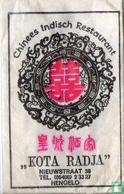 """Chinees Indisch Restaurant """"Kota Radja"""""""