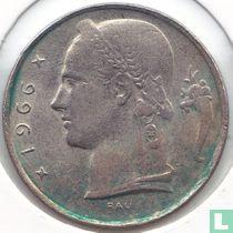 België 5 francs 1966 (NLD - met RAU)