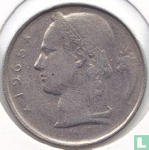 België 5 francs 1965 (NLD - muntslag)