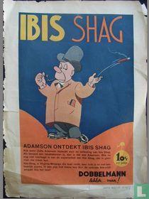 Adamson ontdekt Ibis Shag