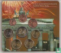"""Duitsland jaarset 2002 (A) """"Branderburger Tor - Vuurwerk"""""""