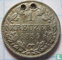 Beieren 1 kreuzer 1859