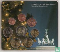 """Duitsland jaarset 2002 (A) """"Branderburger Tor - Kerstmis"""""""