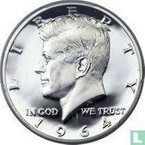 Vereinigte Staaten ½ Dollar 1964 (PP - accented hair)