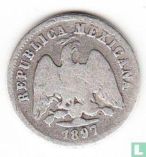 Mexico 10 centavos 1897 (Mo M)