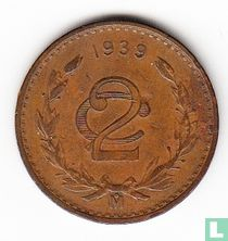 Mexico 2 centavos 1939