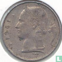 België 1 franc 1961 (NLD)