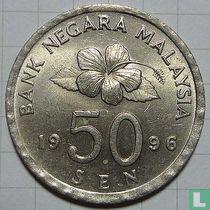 Maleisië 50 sen 1996