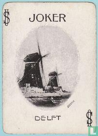 Joker USA 7, Souvenir, Delft, Speelkaarten, Playing Cards, 1899