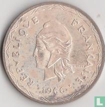 Nieuwe Hebriden 100 francs 1966