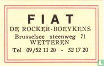 Fiat - De Rocker-Boeykens