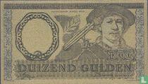 Nederland 1000 Gulden Replica