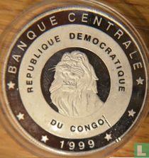 "Congo-Kinshasa 10 francs 1999 (BE) ""2000 Summer Olympics in Sydney"""