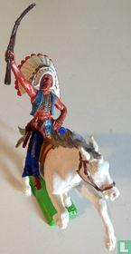 Indiaan te paard