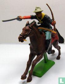 Cavalryman on horseback