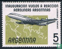 Inauguratie van de Comet Jet Airliners